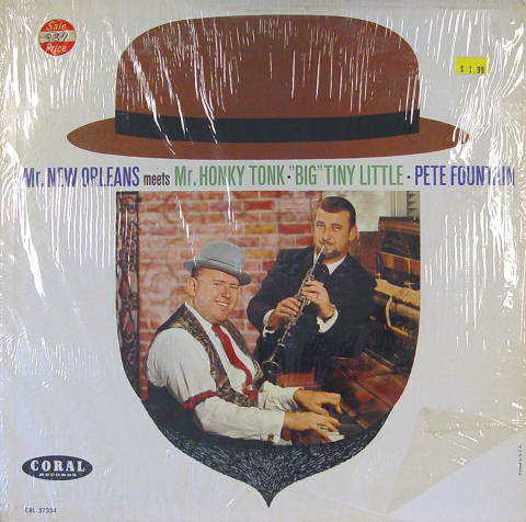 """Pete Fountain And """"Big"""" Tiny Little Vinyl 12"""""""