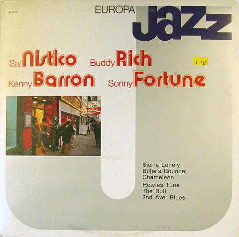 """Sal Nistico / Buddy Rich / Kenny Barron / Sonny Fortune Vinyl 12"""""""