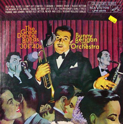 """Bunny Berigan And His Orchestra Vinyl 12"""""""
