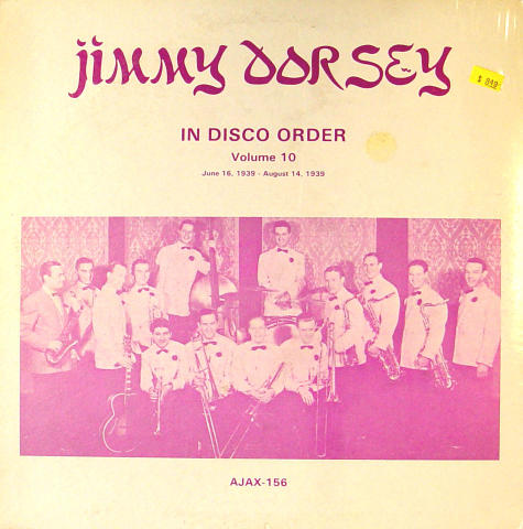 "Jimmy Dorsey Vinyl 12"""