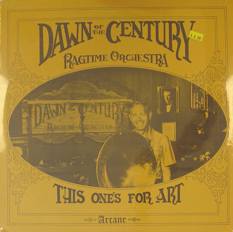 "Dawn Of the Century Ragtime Orchestra Vinyl 12"" (New)"