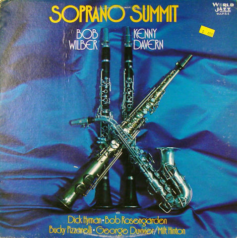 "Bob Wilber / Kenny Davern Vinyl 12"""