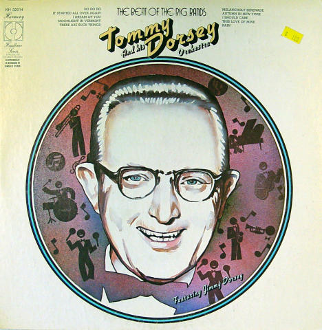 """Tommy Dorsey & His Orchestra Vinyl 12"""""""