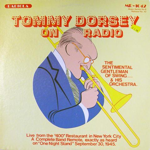 "Tommy Dorsey / Eddie Condon Vinyl 12"""