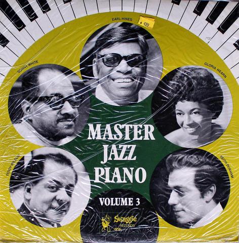 "Master Jazz Piano: Volume 3 Vinyl 12"""