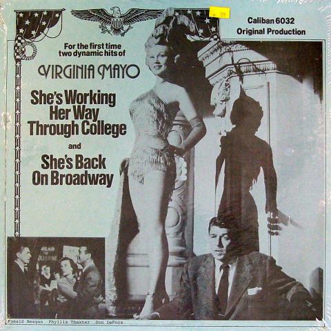 "Virginia Mayo / Ronald Reagan / Phyllis Thaxter / Don DeFore Vinyl 12"""