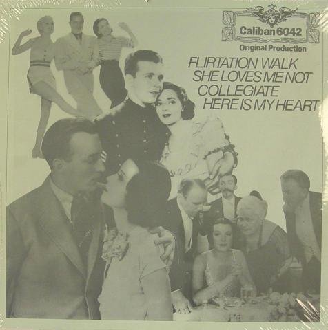 """Flirtation Walk / She Loves Me Not / Collegiate / Here Is My Heart Vinyl 12"""""""
