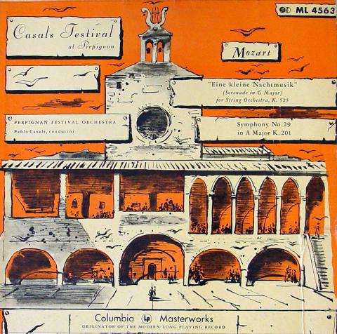 """Casals Festival At Perpignan: Mozart Vinyl 12"""""""
