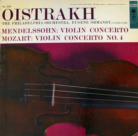 """Mendelssohn / Mozart Vinyl 12"""""""