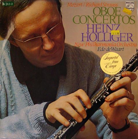 """Heinz Holliger Vinyl 12"""""""