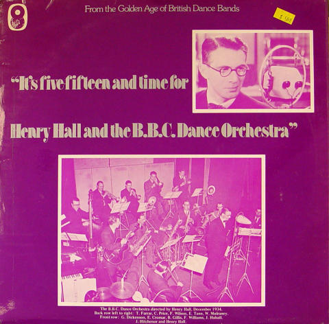 """Henry Hall And The B.B.C. Dance Orchestra Vinyl 12"""""""