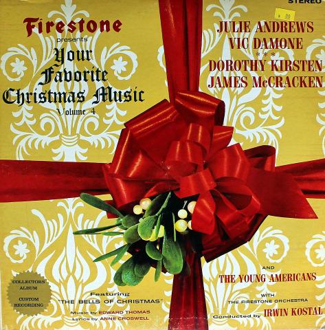 "Your Favorite Christmas Music: Volume 4 Vinyl 12"""