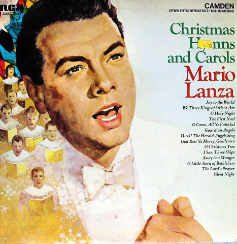 """Mario Lanza Vinyl 12"""""""