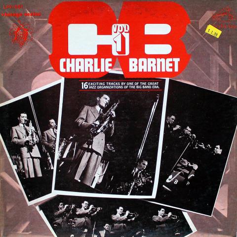 """Charlie Barnet Vinyl 12"""""""
