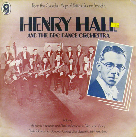 """Henry Hall And The BBC Dance Orchestra Vinyl 12"""""""