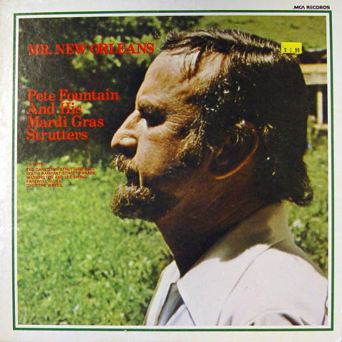 """Pete Fountain And His Mardi Gras Strutters Vinyl 12"""" (Used)"""