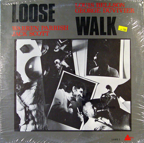 "Louis Bellson / George Duvivier / Warren Parrish / Jack Scott Vinyl 12"""