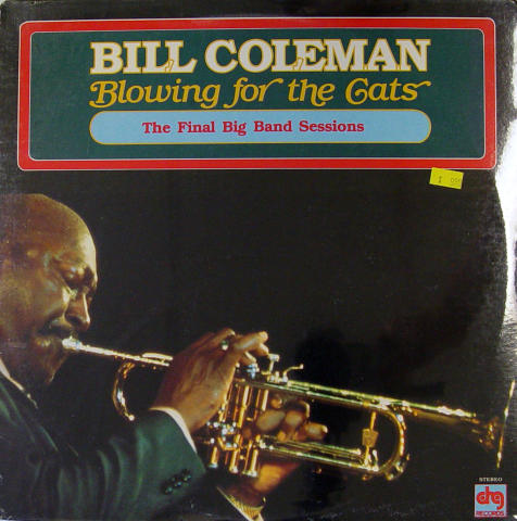 "Bill Coleman Vinyl 12"""