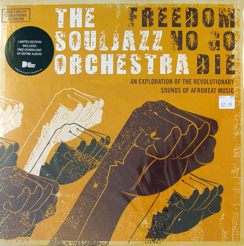 "The Soul Jazz Orchestra Vinyl 12"" (New)"