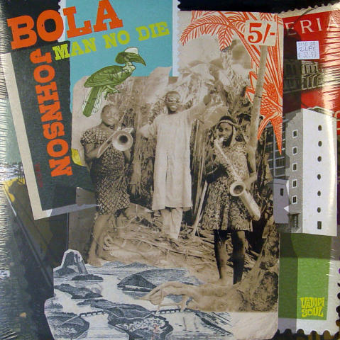 "Bola Johnson Vinyl 12"" (New)"