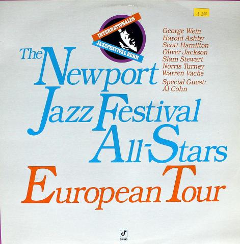 "The Newport Jazz Festival All-Stars Vinyl 12"""