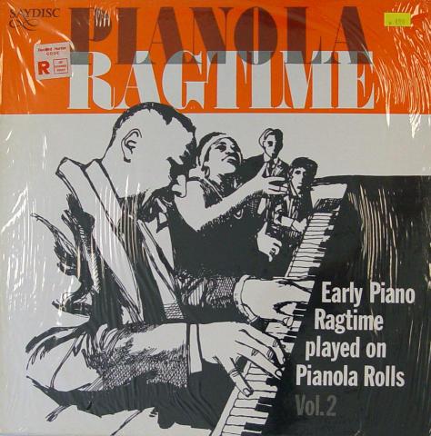 """Pianola Ragtime Vinyl 12"""" (New)"""