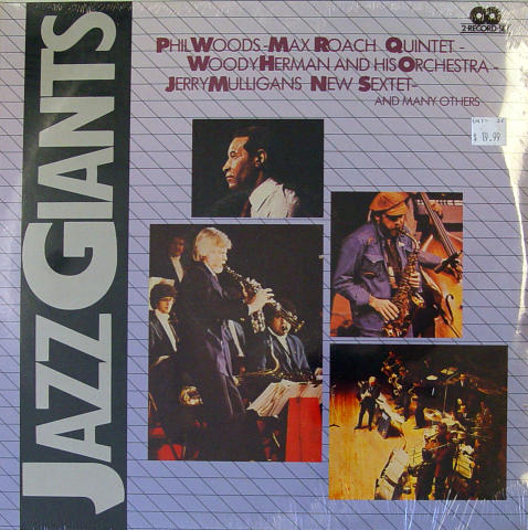 Jazz Giants Vinyl 12""
