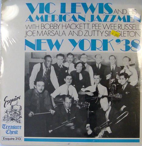 "Vic Lewis And His American Jazzmen Vinyl 12"""