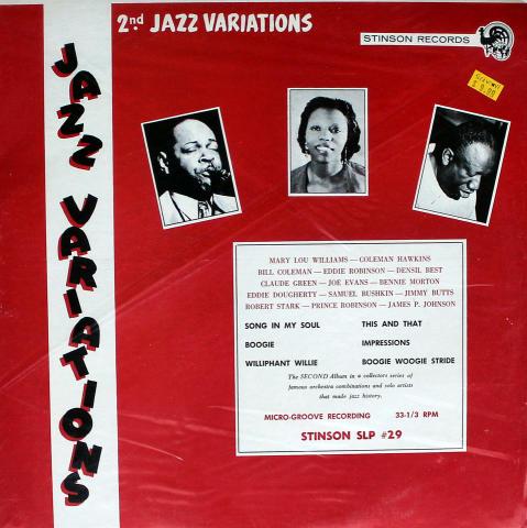 "Jazz Variations: Volume II Vinyl 12"" (Used)"