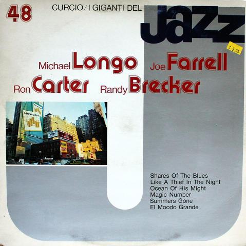 "Michael Longo / Joe Farrell / Ron Carter / Randy Brecker Vinyl 12"""