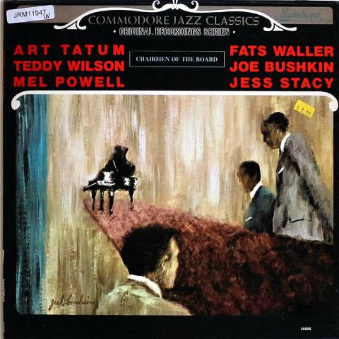 "Commodore Jazz Classics: Chairmen Of The Board Vinyl 12"""