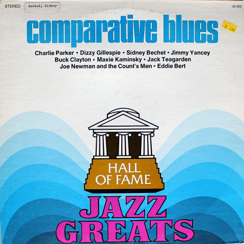 Hall Of Fame Jazz Greats: Comparative Blues Vinyl 12""