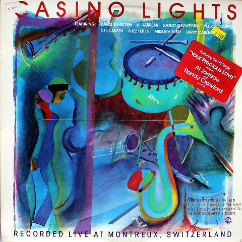 "Casino Lights Vinyl 12"" (Used)"