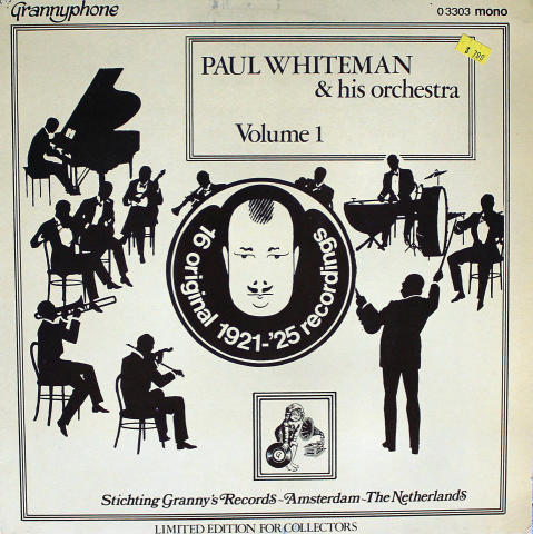 """Paul Whiteman And His Orchestra Vinyl 12"""""""