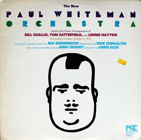 "The New Paul Whiteman Orchestra Vinyl 12"""