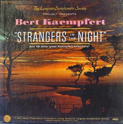 "Strangers In The Night Vinyl 12"""