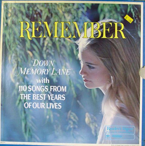 "Remember: Down Memory Lane Vinyl 12"""