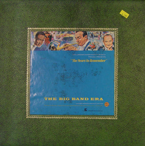 The Years To Remember: The Big Band Era Vinyl 12""
