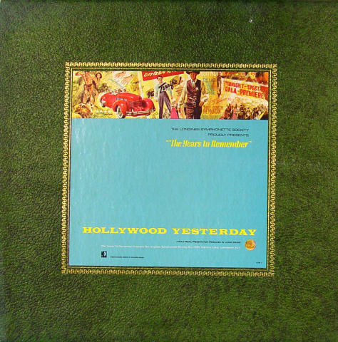 """The Years To Remember: Hollywood Yesterday Vinyl 12"""" (Used)"""