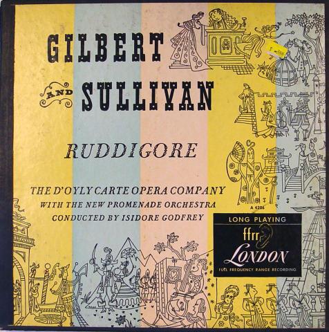 "Gilbert and Sullivan Vinyl 12"""
