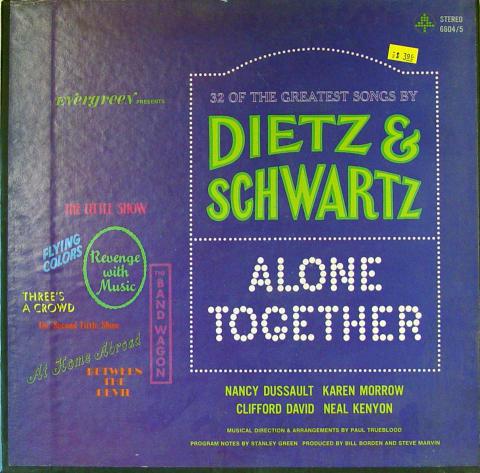 """Dietz & Schwartz Vinyl 12"""""""
