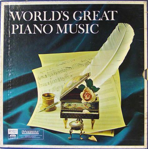 """World's Great Piano Music Vinyl 12"""""""