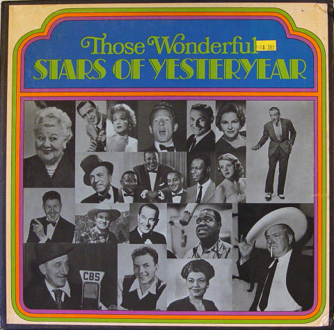 Those Wonderful Stars Of Yesteryear Vinyl 12""