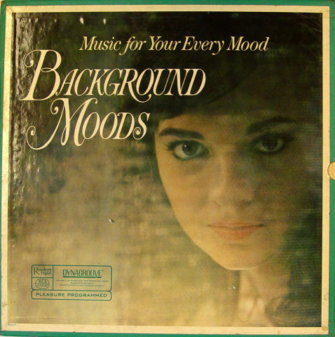 """Music For Your Every Mood: Background Moods Vinyl 12"""""""