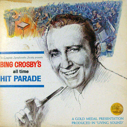 """Bing Crosby's All Time Hit Parade Vinyl 12"""""""