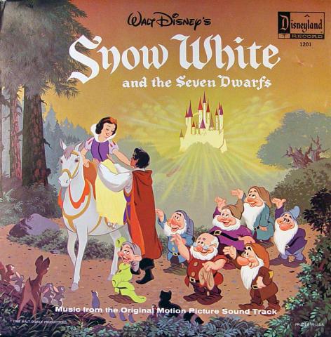 "Snow White And The Seven Dwarfs Vinyl 12"""