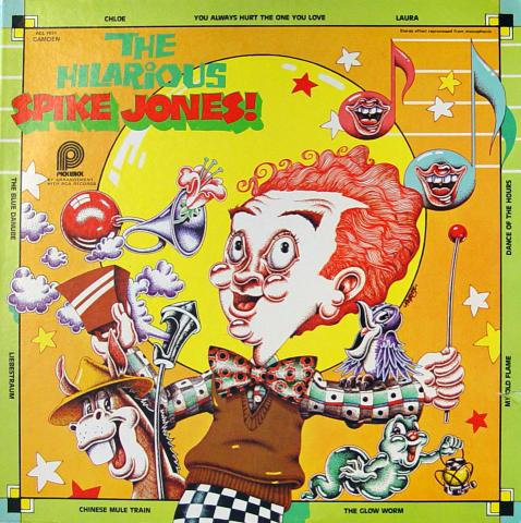 """Spike Jones Vinyl 12"""""""