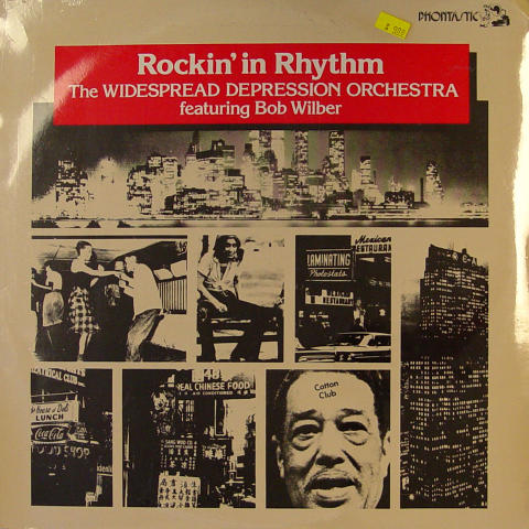 """The Widespread Depression Orchestra Featuring Bob Wilber Vinyl 12"""""""