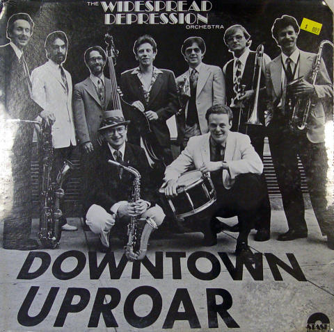 "The Widespread Depression Orchestra Vinyl 12"""