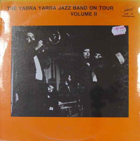 "The Yarra Yarra Jazz Band Vinyl 12"""